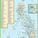 Philippines Political Map   Printable Map Of The Philippines