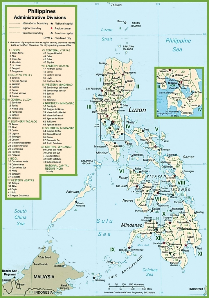 Philippines Political Map - Printable Quezon Province Map