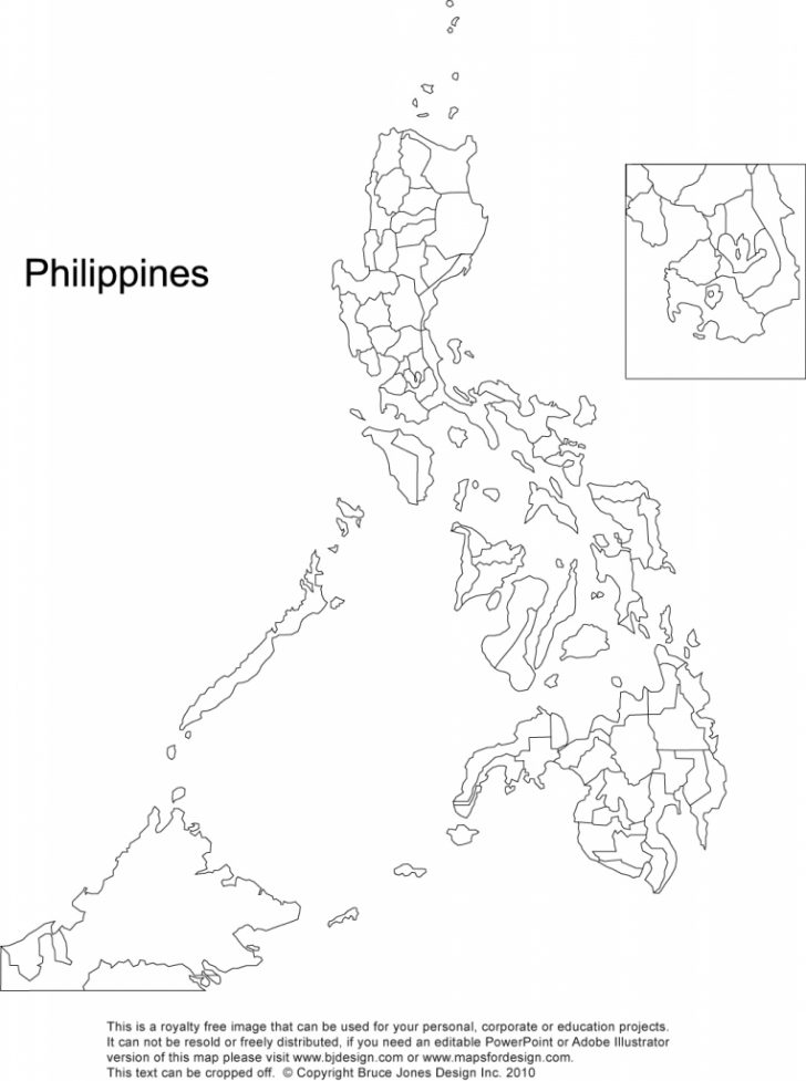 Printable Map Of The Philippines