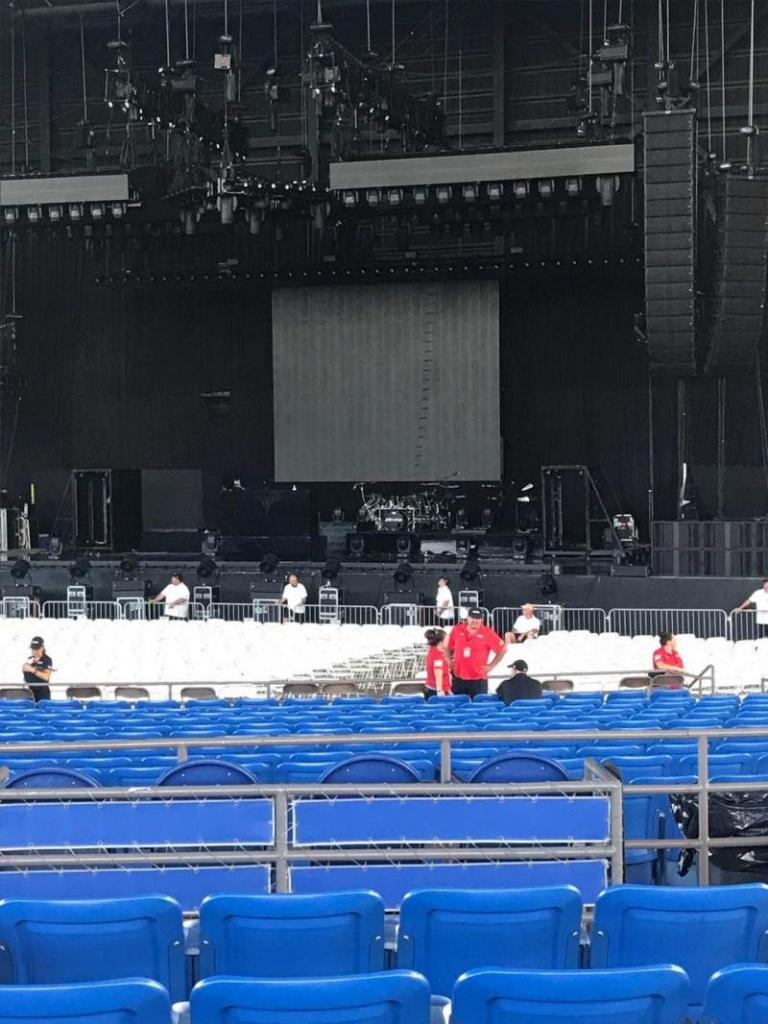 Photos At Midflorida Credit Union Amphitheatre. - Mid Florida Amphitheater Parking Map