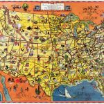 Pictorial Map Setting Forth The Services Of The Greyhound Lines And   Greyhound Route Map California