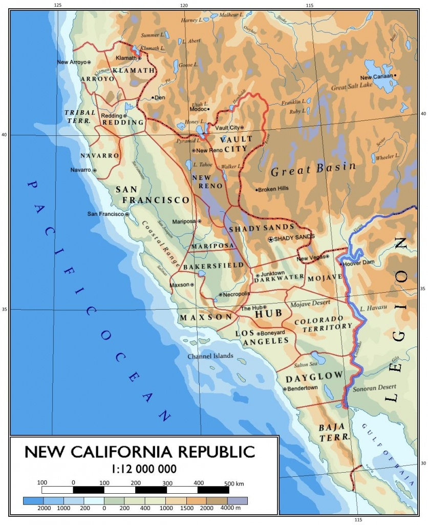 Pinapollo On Fallout: Solaine Keats | Map, Fallout Props - Map Of The New California Republic
