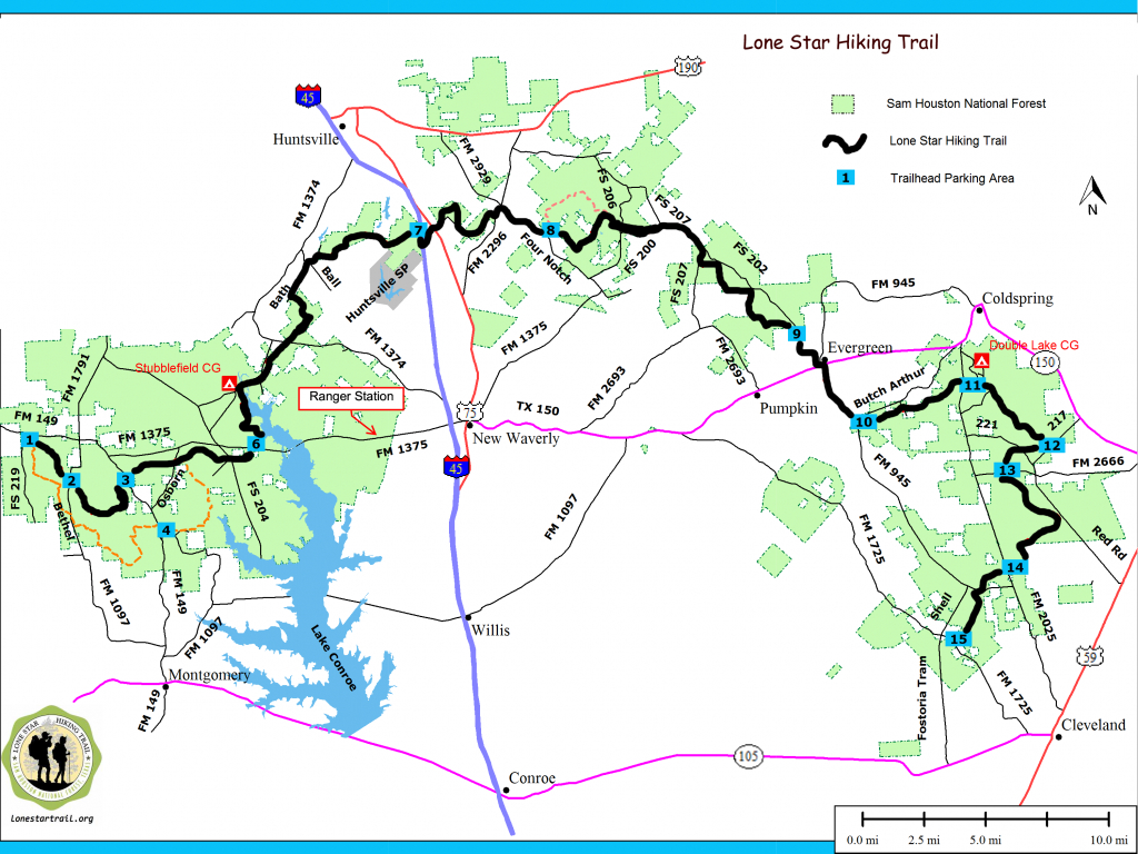 Pincathy Foreman On Outdoor Adventures   Hiking Trail Maps - Texas Hiking Trails Map
