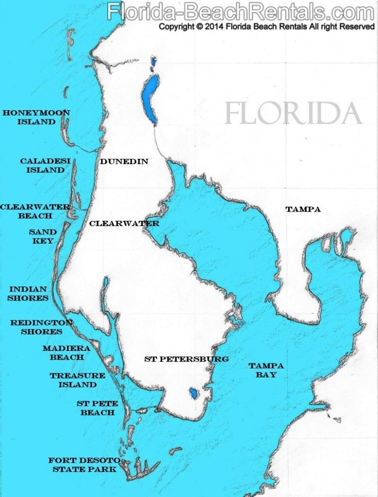 Pinellas County Florida Map, #florida #map #pinellascounty | Talk Of - Map Of Florida Showing Tampa And Clearwater