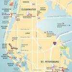 Pinellas County Map Clearwater, St Petersburg, Fl | Florida   St Pete Beach Florida Map