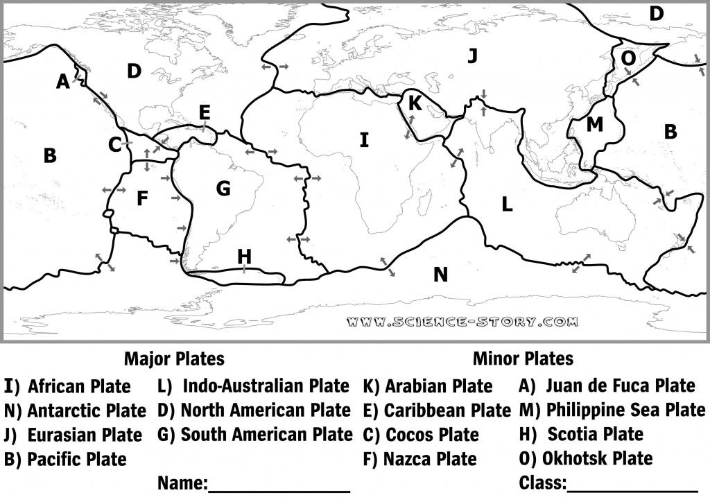Pinkeri Kordalski On Earth's Layers/plate Tectonics   Science - World Map Tectonic Plates Printable