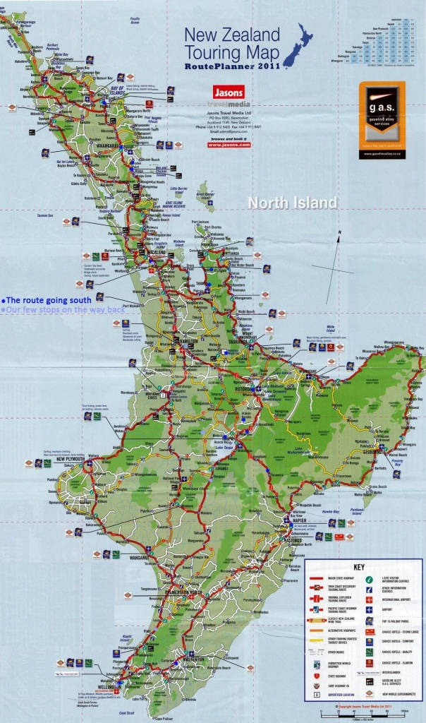 Pinlindsey Mclevis On Travel In 2019 | North Island New Zealand - New Zealand North Island Map Printable