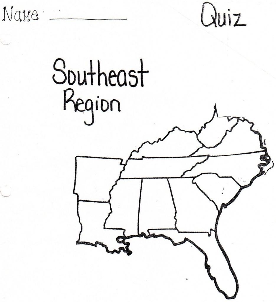 Pinnadine Castro On School | Us Map Printable, Map, Us Map - Southeast States Map Printable