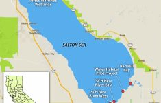 Salton Sea California Map