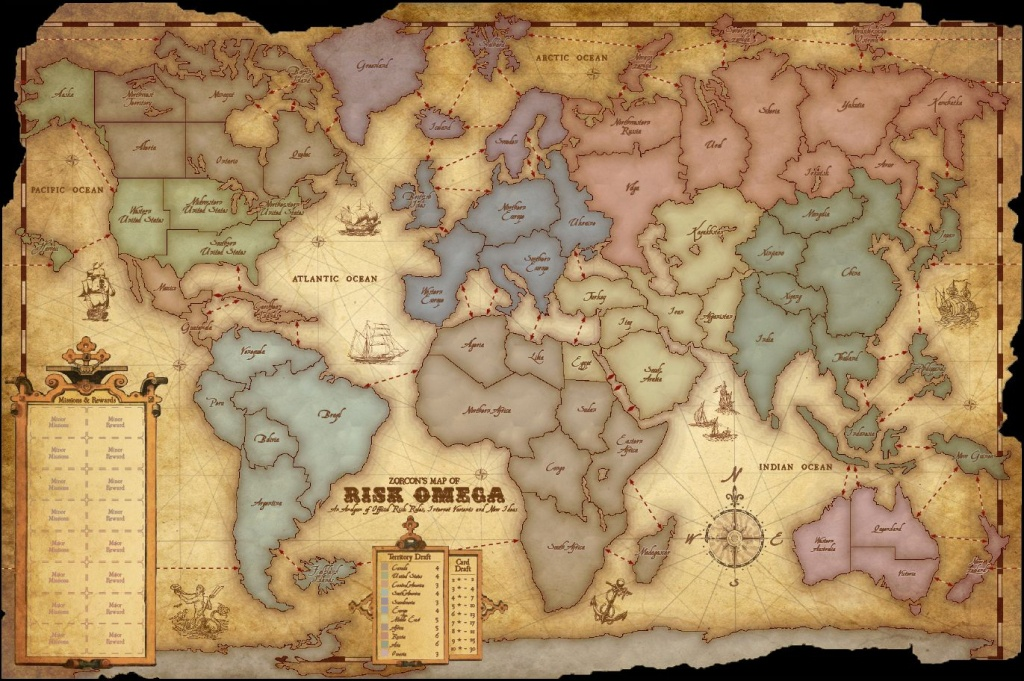 Pinplay Free Online 32 On Play Risk Online | Games, An - Risk Board Game Printable Map
