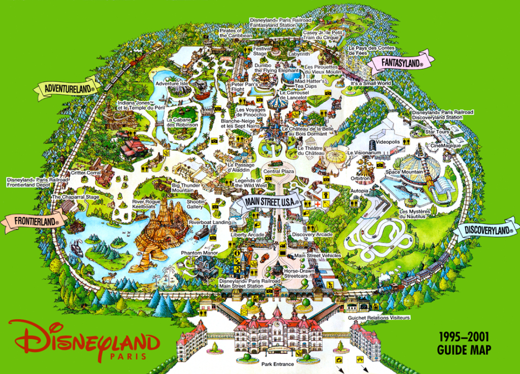 Pinshowman On Disney Parks | Disneyland, Disneyland Paris, Paris Map - Disneyland Paris Map Printable