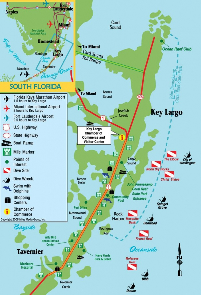 Pinterry Vercellino On Key Largo | Key Largo Florida, Florida - Florida Dive Sites Map