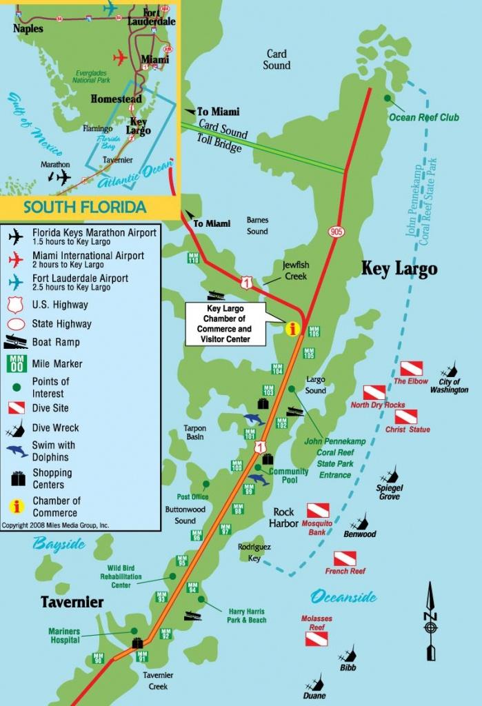 Pinterry Vercellino On Key Largo | Key Largo Florida, Florida - Show Me A Map Of The Florida Keys
