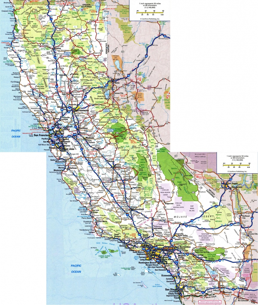 Pinyomar Augusto On Map In 2019 | Highway Map, California Map, Map - Detailed Map California