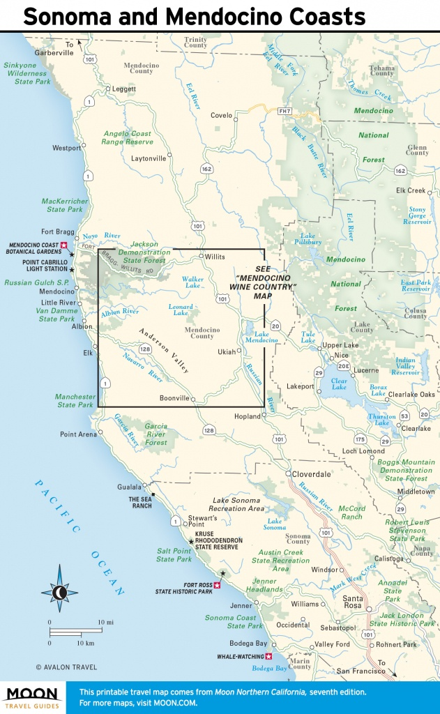 Plan A California Coast Road Trip With Flexible Itinerary Moon Com - Map Of Oregon And California Coastline