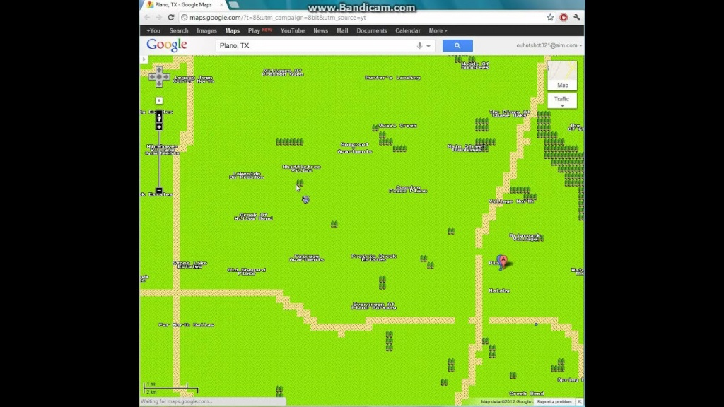 Plano, Texas In 8-Bit Google Maps - Youtube - Google Maps Plano Texas