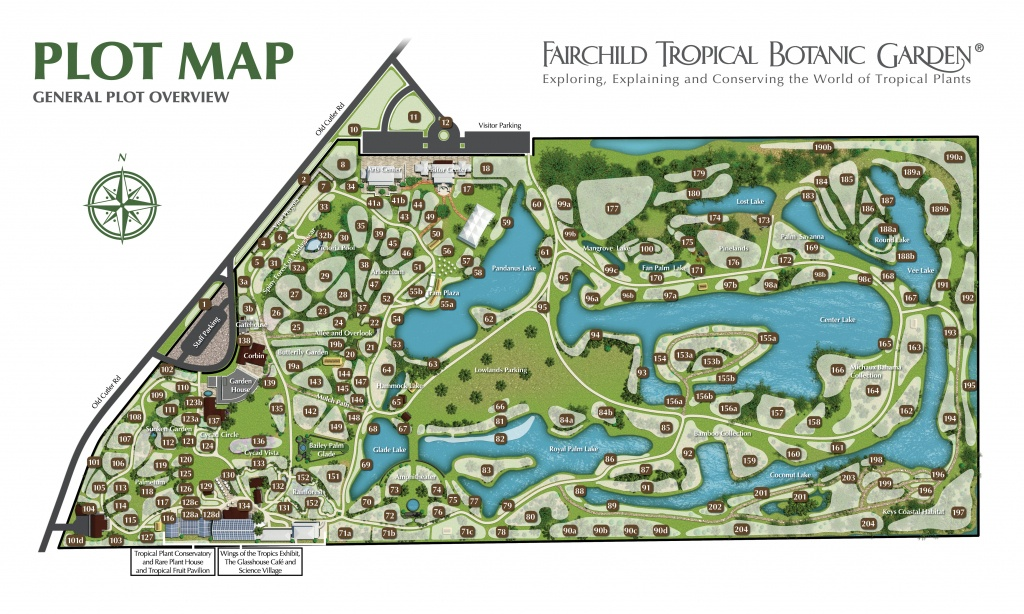 Plant Database Of Living Plants At Fairchild Tropical Garden - Florida Botanical Gardens Tourist Map