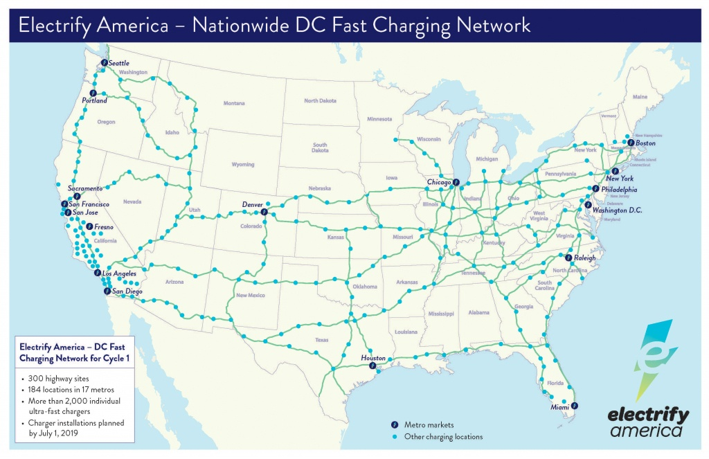 Porsche Taycan Owners Will Get Three Years Free Charging At Hundreds - Dc Fast Charging Stations California Map