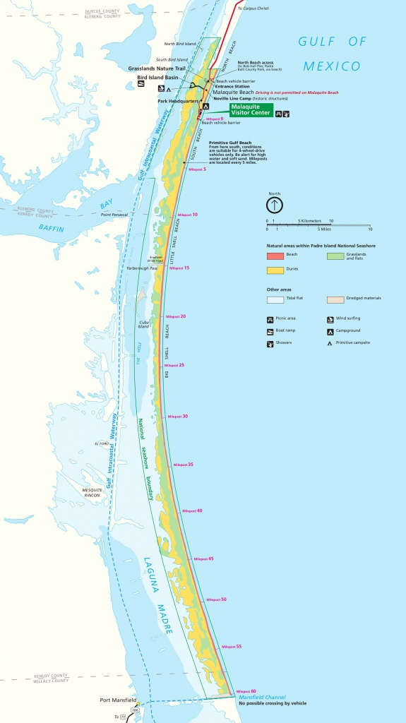 Port Aransas Beach Mile Markers Map - New Images Beach - Map Of Port Aransas Texas Area