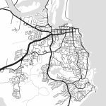 Port Macquarie Map Print Printable Port Macquarie Map Art | Etsy – Printable Street Map Of Port Macquarie