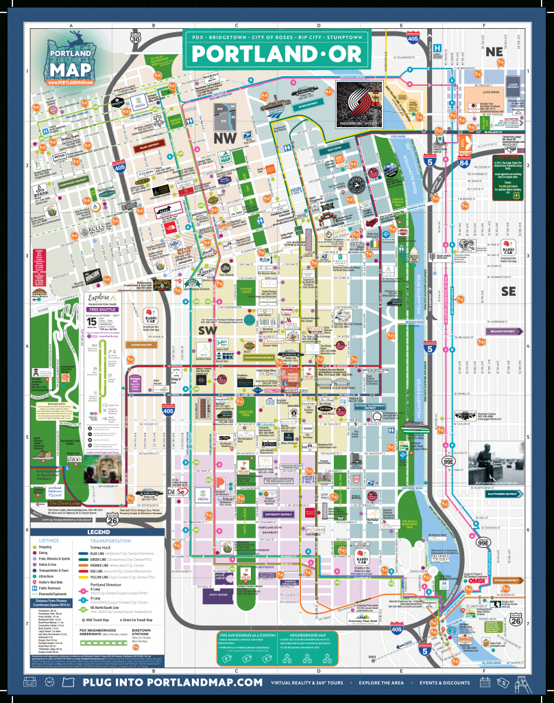 Portland Map Online – Portlandmap - Printable Map Of Portland Oregon