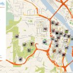 Portland Printable Tourist Map In 2019 | Travel Tips And Maps   Printable Map Of Portland Oregon