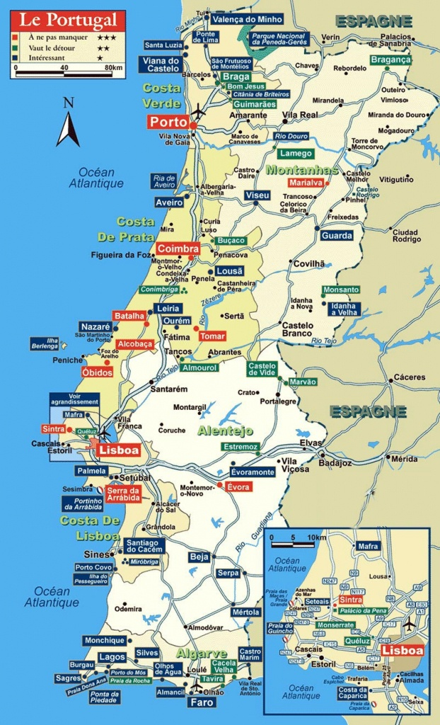 Portugal Maps | Printable Maps Of Portugal For Download - Printable Map Of Portugal