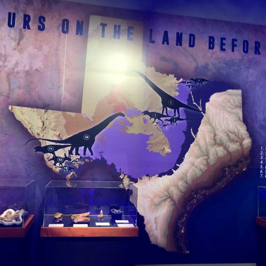 "Predators Vs. Prey"" At The Witte Museum Focuses On Dinosaurs In - Child Predator Map Texas"
