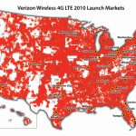 Press Release – Verizon Deploying 4G Lteend Of 2010   Verizon Service Map California