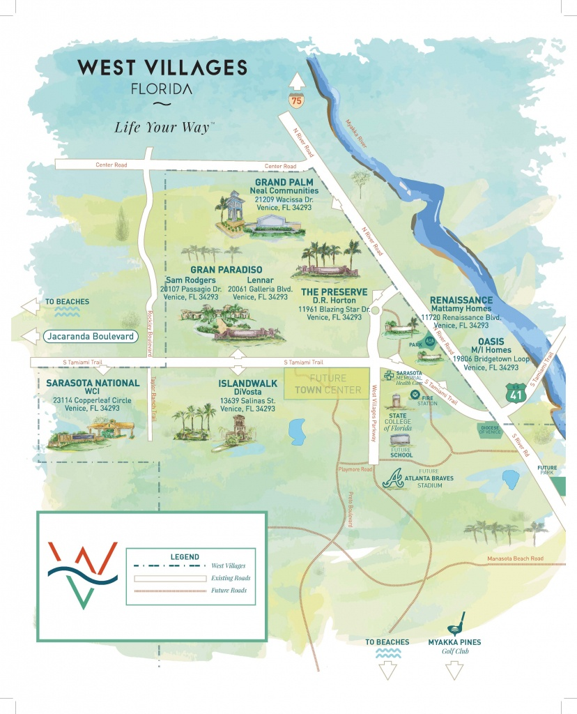 Press Releases - New Homes Sarasota, Home Builder Sarasota - Map Of South Venice Florida