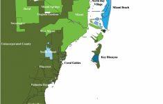 Florida Land Elevation Map