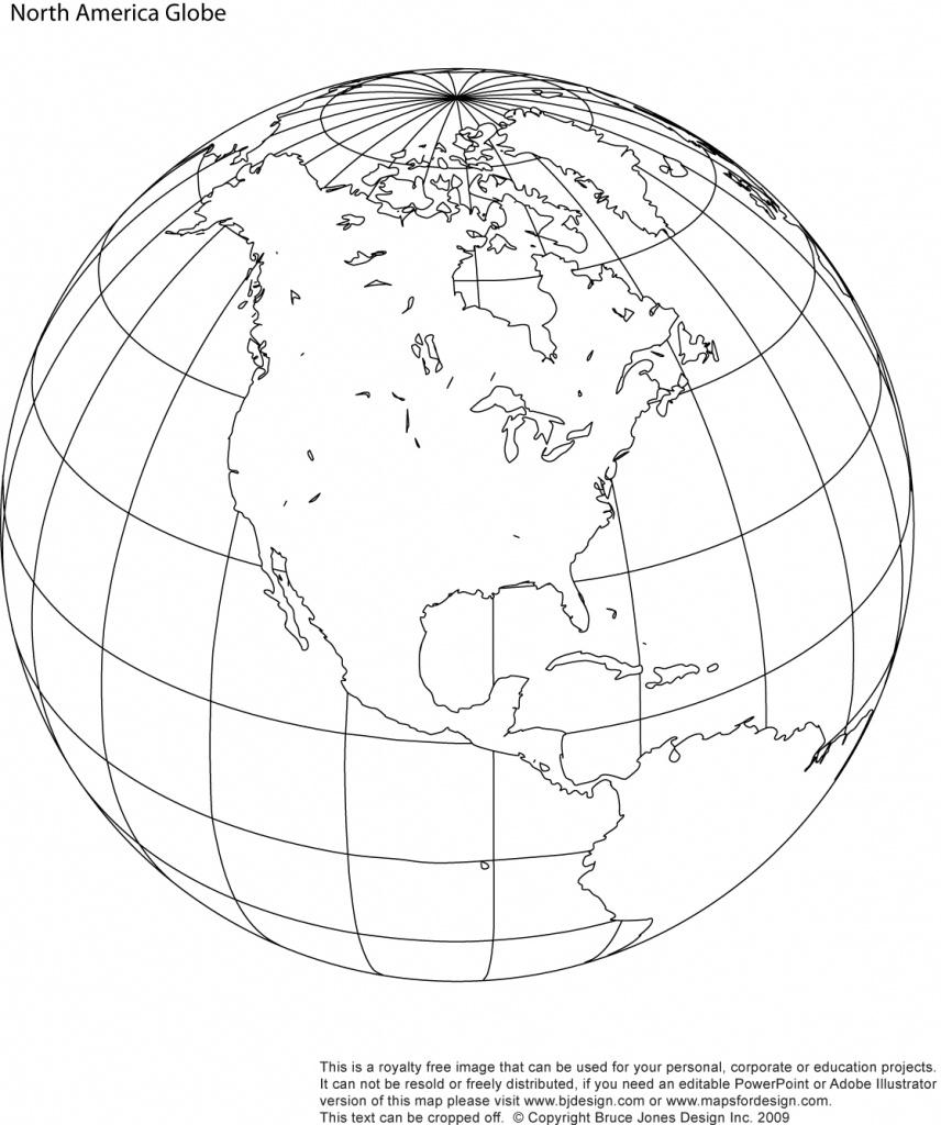 Printable, Blank, World Globe Earth Maps • Royalty Free, Jpg - Printable Earth Map
