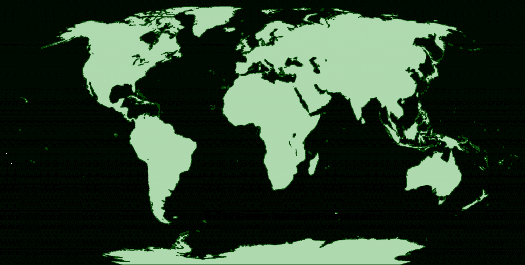 Printable Blank World Maps   Free World Maps - Physical World Map Outline Printable