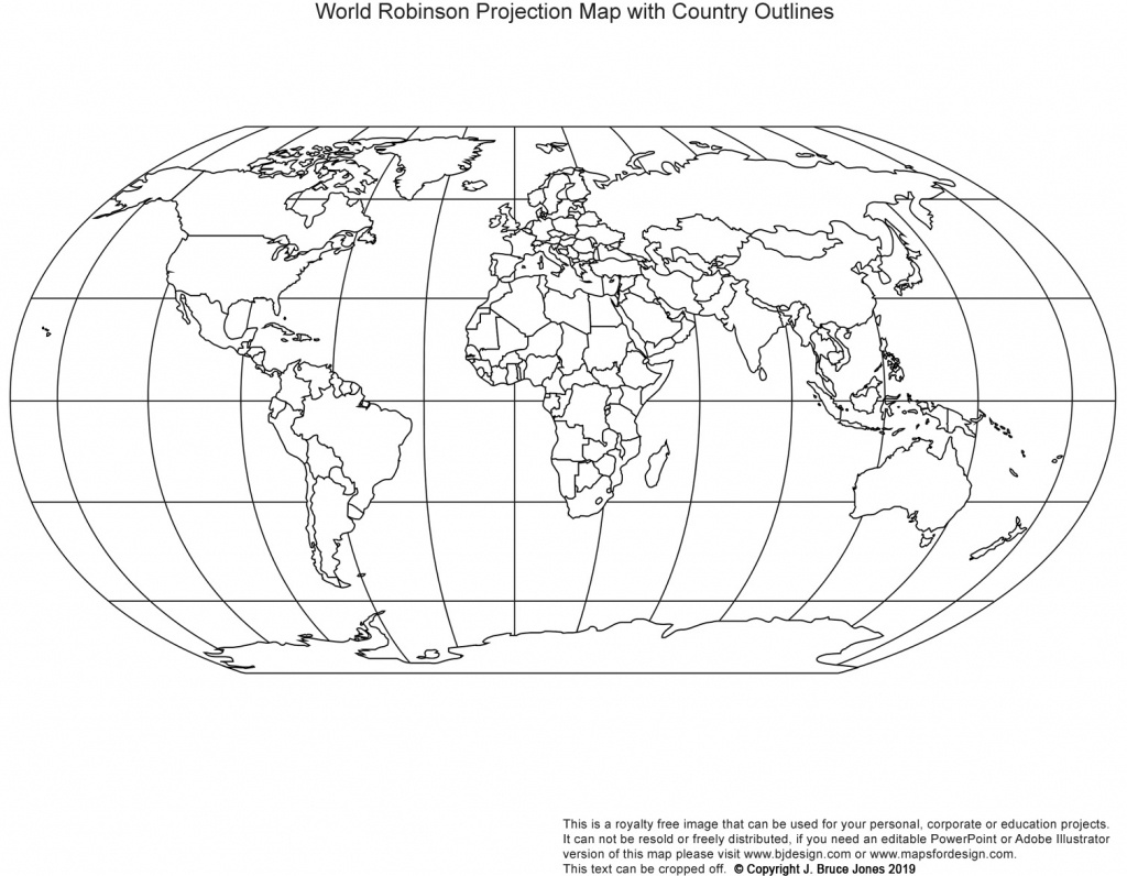 Printable, Blank World Outline Maps • Royalty Free • Globe, Earth - Printable Country Maps