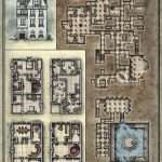 Printable Death House Maps   Dungeon Masters Guild | Dungeon Masters   D&d Printable Maps