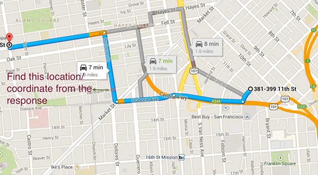 Printable Directions Map Printable Directions Google Maps Driving - Printable Google Maps