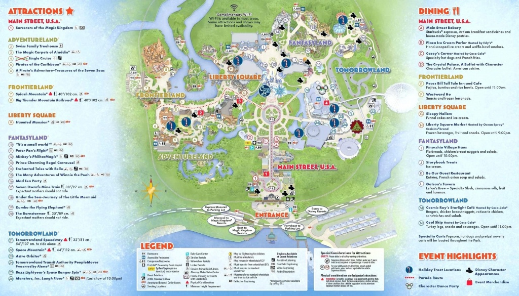 Printable Disney World Maps 2017 Awesome Google Map Orlando Copy - Printable Magic Kingdom Map 2017