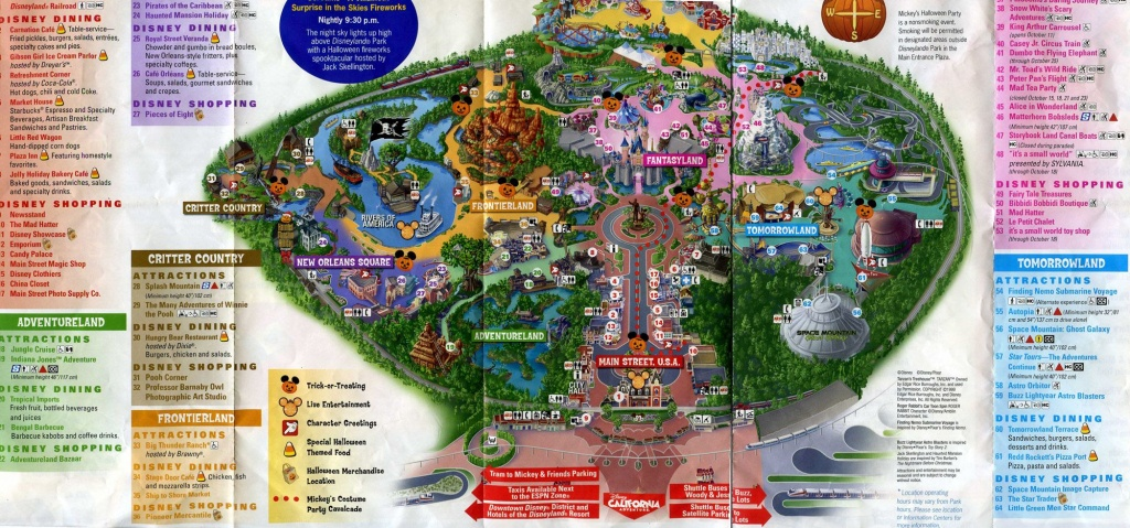 Printable Disneyland Map 2015 | Family | Disneyland Map, Disneyland - Printable Disneyland Map 2015