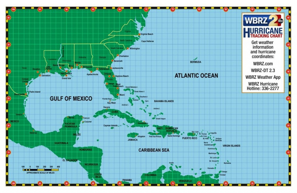 Printable Hurricane Tracking Chart | Weather Words And What They - Printable Hurricane Tracking Map