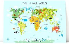 Printable Map Of Asia For Kids – World Wide Maps – Printable World Map For Kids