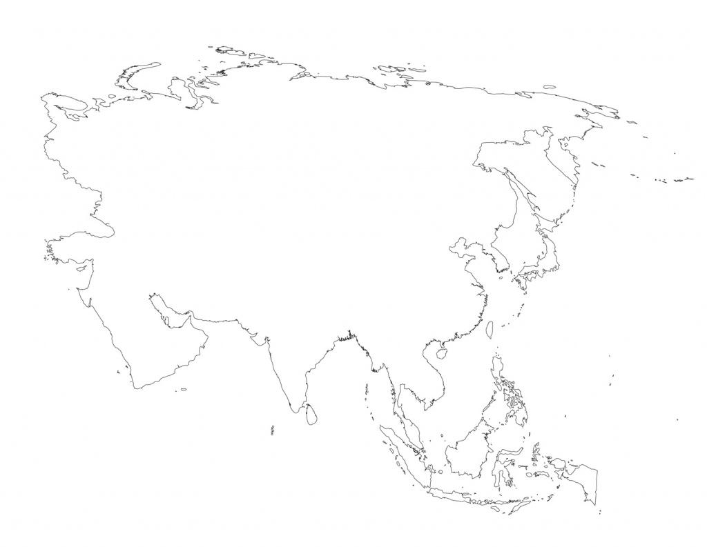 Printable Map Of Asia - Printable Map Of Asia