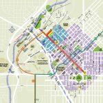 Printable Map Of Denver And Travel Information | Download Free   Denver City Map Printable