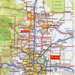 Printable Map Of Denver And Travel Information | Download Free   Printable Map Of Denver