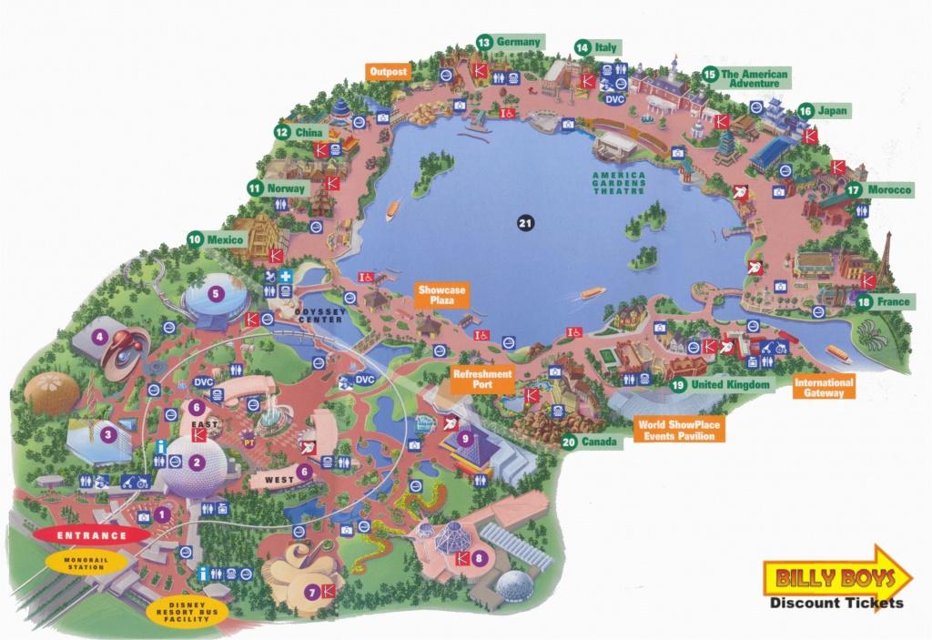 Printable Map Of Disneyland California Printable Map Disneyland And - Printable Map Of Disneyland California
