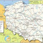 Printable Map Of Poland   Map Of Poland Printable (Eastern Europe   Printable Map Of Poland