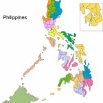 Printable Map Of The Philippines   Free Printable Map Of The   Printable Map Of The Philippines