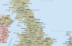 Printable Map Of Uk Towns And Cities