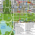 picture relating to National Mall Map Printable named Washington Dc Vacationer Map Excursions Sights Dc