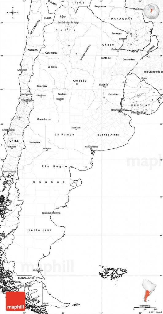 Printable Maps Of Argentina And Travel Information | Download Free - Printable Map Of Argentina