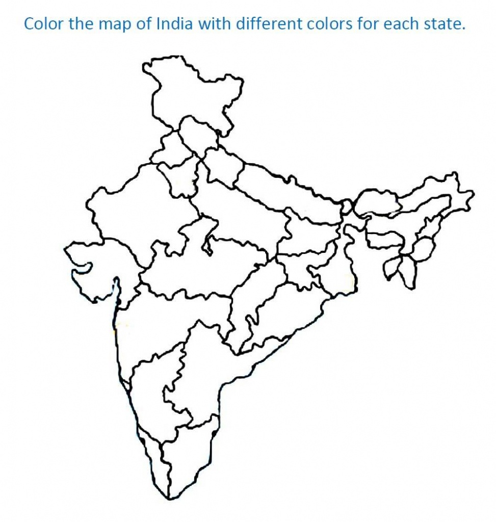 Printable Maps Of India And Travel Information | Download Free - Printable Map Of India